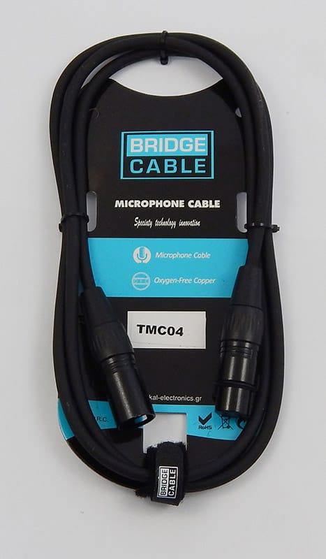 Bridgecable μικροφωνικό καλώδιο XLR αρσ. - XLR θηλ. 0.5m TMC04 1