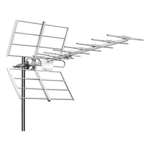 V-Tech Z240LTE Επίγεια ψηφιακή κεραία UHF 12dB 104cm λευκή 1