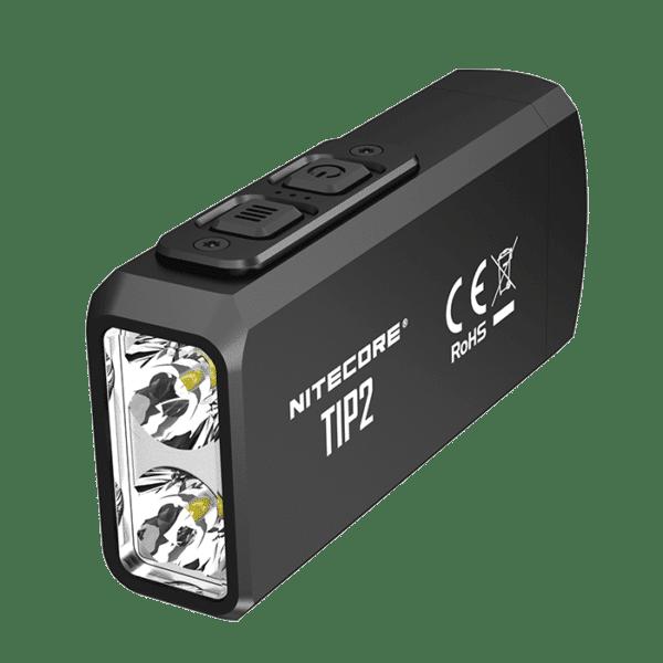 Nitecore TIP2 Dual-Core Magnetic Keychain flashlight 720lm