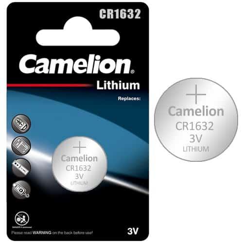 CAMELION CR1632 ΜΠΑΤΑΡΙΑ ΛΙΘΙΟΥ 3V (1τμχ.) 1