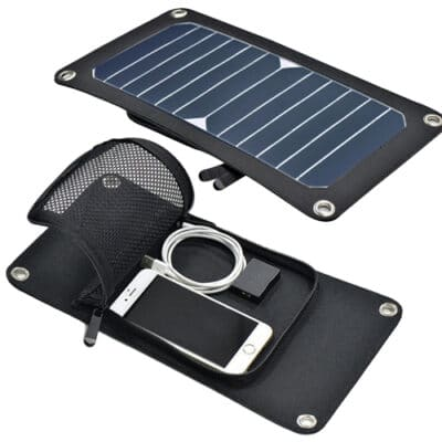 Invictus Ηλιακός Φορτιστής 7W με Θύρα USB SRUSB-7
