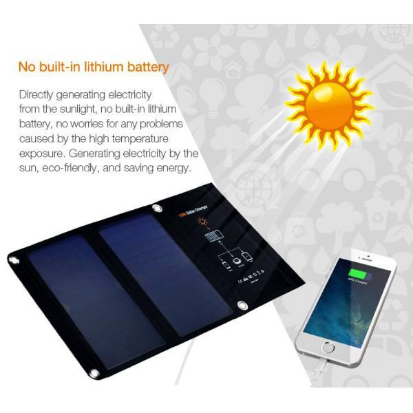 Invictus Ηλιακός Φορτιστής με Θύρα USB 15W SRUSB-15 8