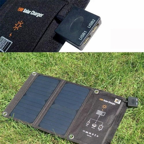 Invictus Ηλιακός Φορτιστής με Θύρα USB 15W SRUSB-15 3