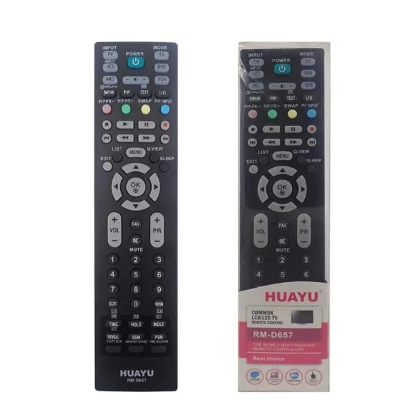 HUAYU RM-D657 Συμβατό Τηλεχειριστήριο για LG LED/LCD TV 3