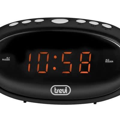 Trevi EC880 Ψηφιακό ρολόι με διπλό ξυπνητήρι