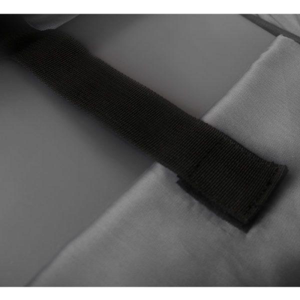 NOD CitySafe Αnti-theft σακίδιο πλάτης για laptop έως 15,6'' με ενσωματωμένη θύρα USB σε γκρι χρώμα 2