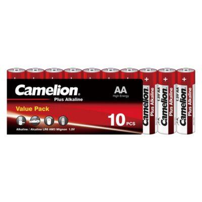 Camelion AA LR6 1.5V Αλκαλικές μπαταρίες Value Pack (10τμχ.)