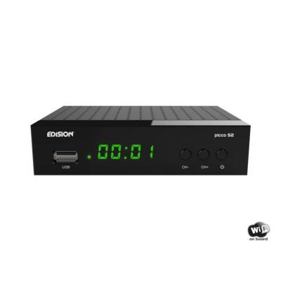Edision Picco S2 Δορυφορικός Δέκτης Full HD DVB-S2