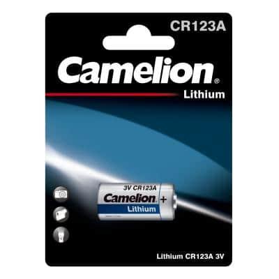 Camelion CR123A Μπαταρία Λιθίου 3V (1τμχ.)