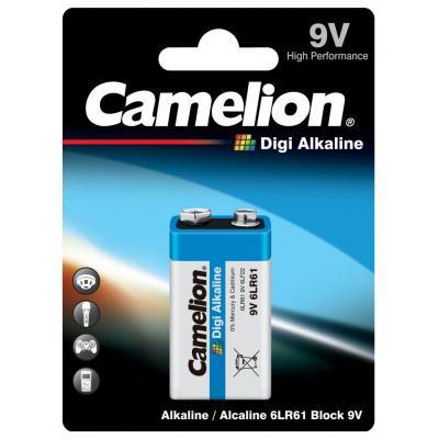 Camelion 6LR61 Αλκαλική Μπαταρία 9V Digi Alkaline