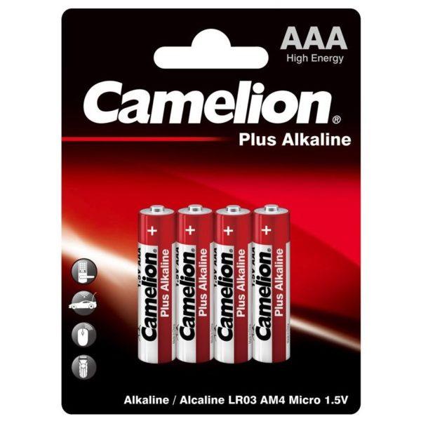 Camelion AAA LR03 Αλκαλικές Μπαταρίες 1.5V Plus Alkaline