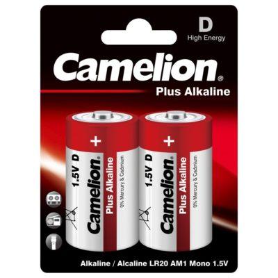 Camelion LR20 Αλκαλικές Μπαταρίες 1.5V Plus Alkaline