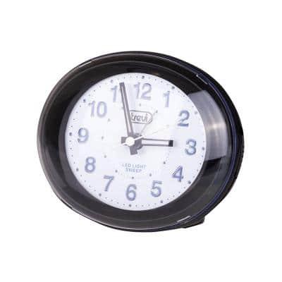 Trevi SL 3052 Ρολόι & Ξυπνητήρι αθόρυβο, μαύρο