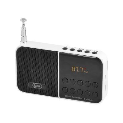TREVI DR 740 SD Ψηφιακό Ραδιόφωνο με SD Card είσοδο, λευκό