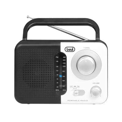 Trevi RA 768 S Φορητό ραδιόφωνο ρεύματος AM/FM, λευκό