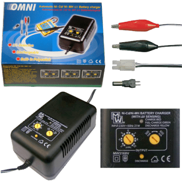 MINWA Φορτιστής Μπαταριών 2,8V-14V 300-600mA MW3168V 1