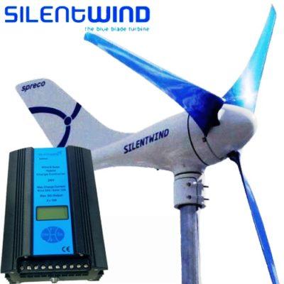 Silentwind Ανεμογεννήτρια Αθόρυβη 450W 24V SILENTWIND-400-24