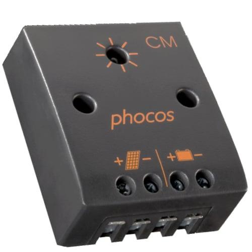 PHOCOS CM-04-2,1 Ρυθμιστής φόρτισης φωτοβολταϊκών 12V 4A