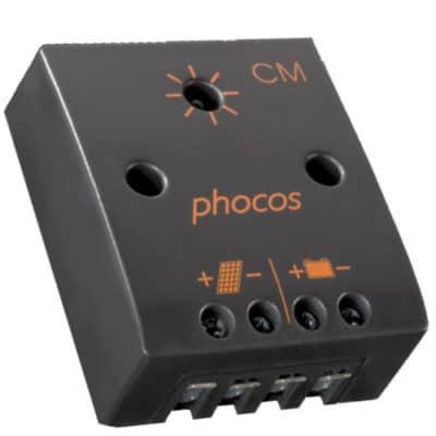 Phocos CM-10-2,1 Ρυθμιστής φόρτισης φωτοβολταϊκών 12V 10A
