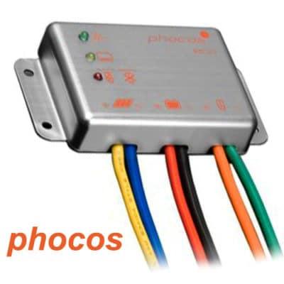 Phocos ECO-10 Ρυθμιστής φόρτισης φωτοβολταϊκών 12V 10A