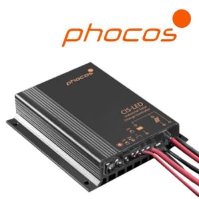 Phocos CIS-N-LED-700 Ρυθμιστής φόρτισης φωτοβολταϊκών με LED Driver 700mA IP68 12/24V 10A