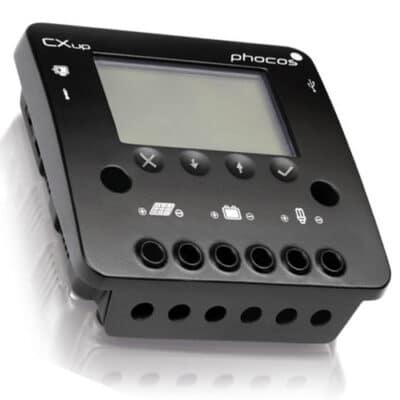 Phocos CXup20 Ρυθμιστής φόρτισης φωτοβολταϊκών 12/24V 20A USB-Port