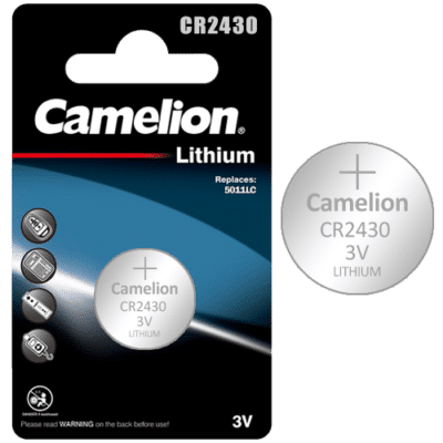 Camelion CR2430 Μπαταρία Λιθίου 3V (1τμχ.)