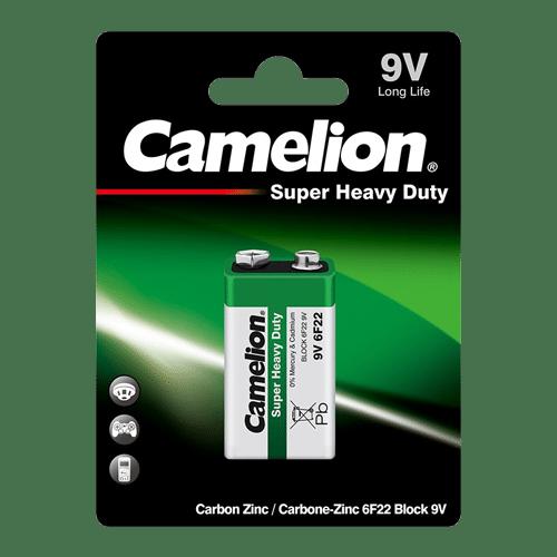 CAMELION 6F22-BP1 ΜΠΑΤΑΡΙΑ SUPER HEAVY DUTY 9V 1