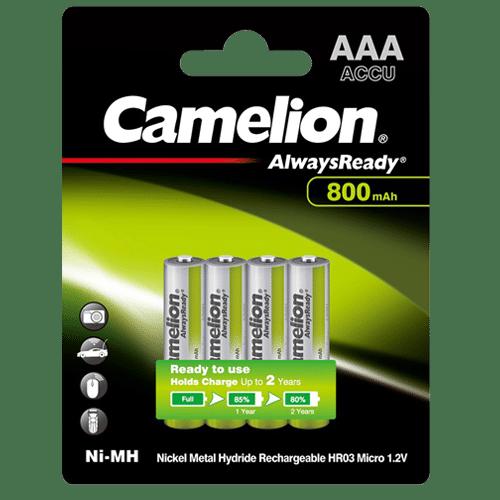 CAMELION R03AAA800mAh-BP4 ΜΠΑΤΑΡΙΑ ALWAYS READY AAA 1