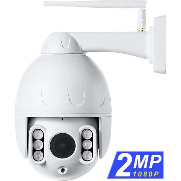 Tenvis Outdoor PTZ IP Camera 2MP 1080P h.264 P2P T3875D (NG)