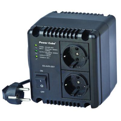 Energenie Αυτόματος ρυθμιστής τάσης AC και σταθεροποιητής 800VA EG-AVR-0801