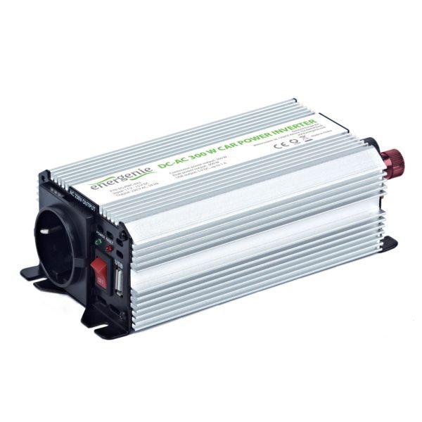 ENERGENIE 12V power inverter αυτοκινήτου 300W EG-PWC-032