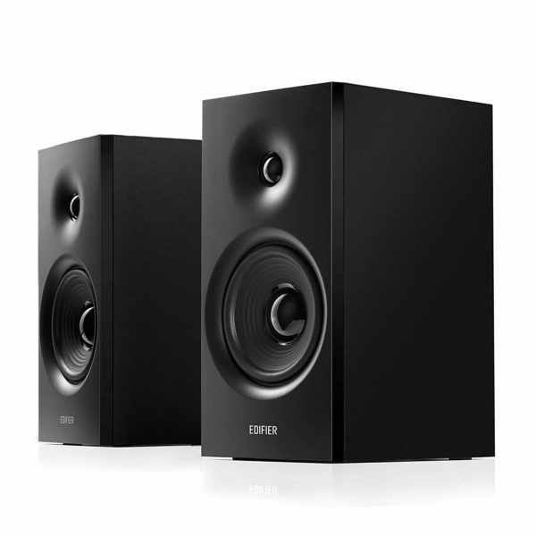 EDIFIER R1080BT Active Bookshelf Bluetooth Speaker 24W Black