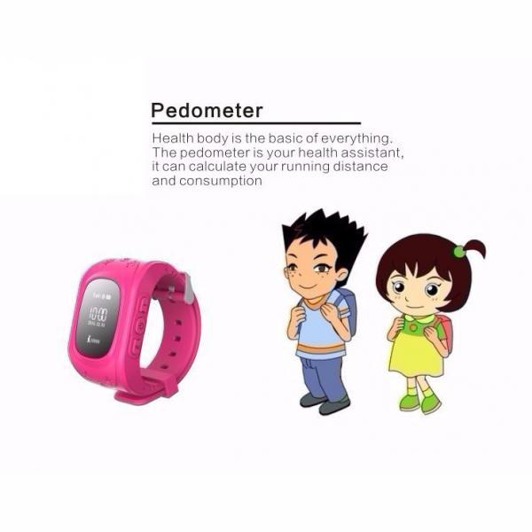 INTIME GPS Παιδικό ρολόι χειρός IT-023, SOS, βηματομετρητής, σκούρο μπλε 5