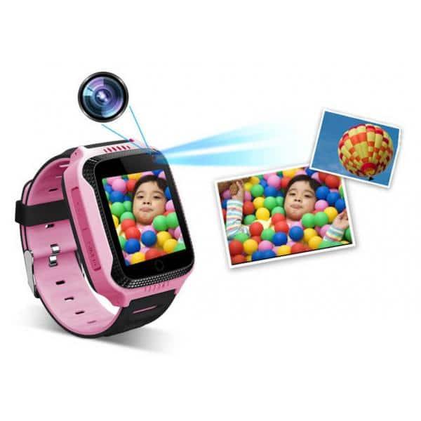 INTIME GPS Παιδικό ρολόι χειρός IT-027, SOS, βηματομετρητής, ροζ 1