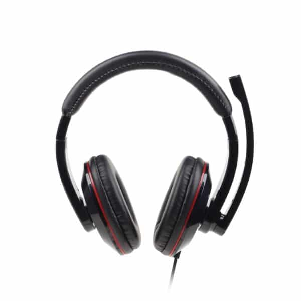 Gembird USB Stereo Headset with Rotating Microphone, black MHS-U-001 1