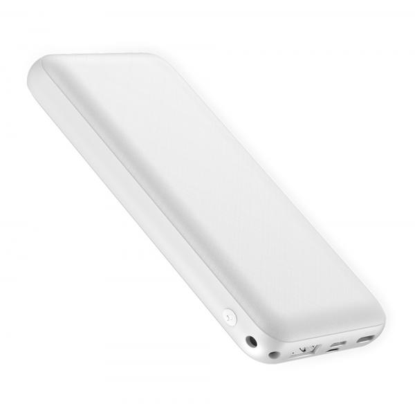 BASEUS power bank PPALL-DXQ02 20000mAh, PD 15W, 2x output, λευκό 2