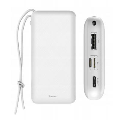BASEUS power bank PPALL-DXQ02 20000mAh, PD 15W, 2x output, λευκό