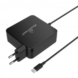 POWERTECH Φορτιστής laptop PT-703 USB Type-C PD Universal 65W μαύρο