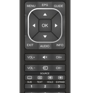 POWERTECH Προγραμματιζόμενο τηλεχειριστήριο μέσω Η/Υ, TV/DVD/CBL/AUX PT-744