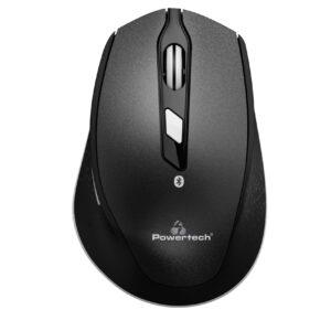 POWERTECH οπτικό ασύρματο ποντίκι, Bluetooth 3.0, 1600dpi, μαύρο PT-916