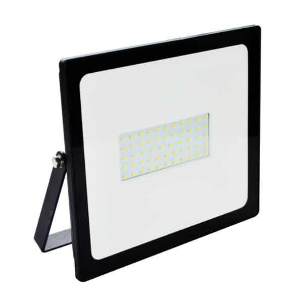 Spotlight Προβολέας LED Slim SMD 50W 4000lm 6000k IP65, Μαύρος (6239)