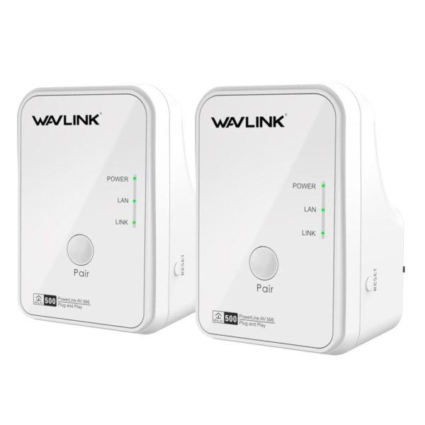 Wavlink NWP502M2 AV500 Powerline Starter Kit