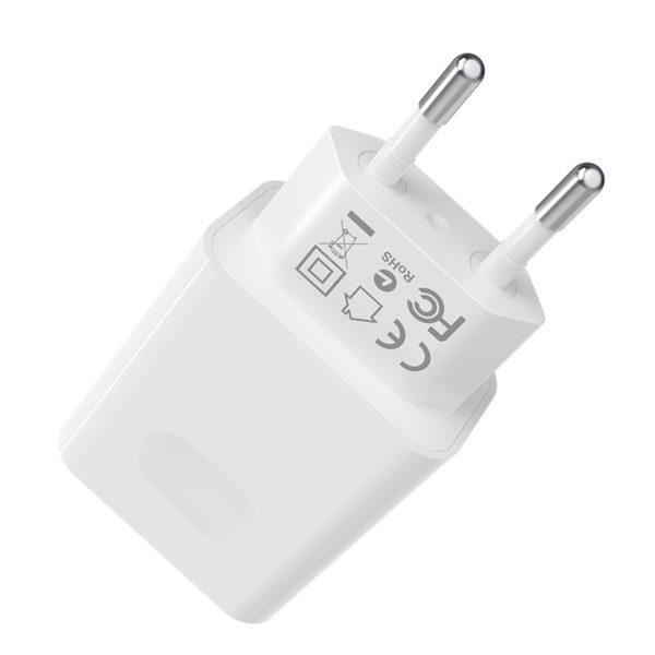 BOROFONE BA32A Bright power wall charger with single USB port 3