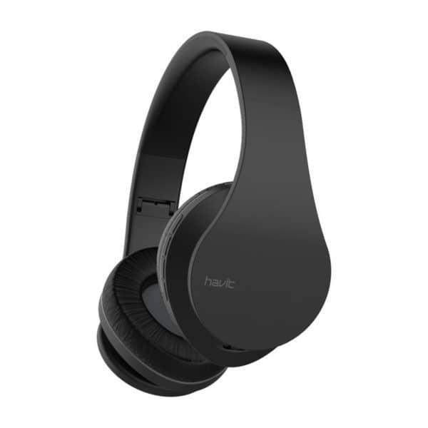 HAVIT i66 Multifunction Wireless Foldable Headphone, Black