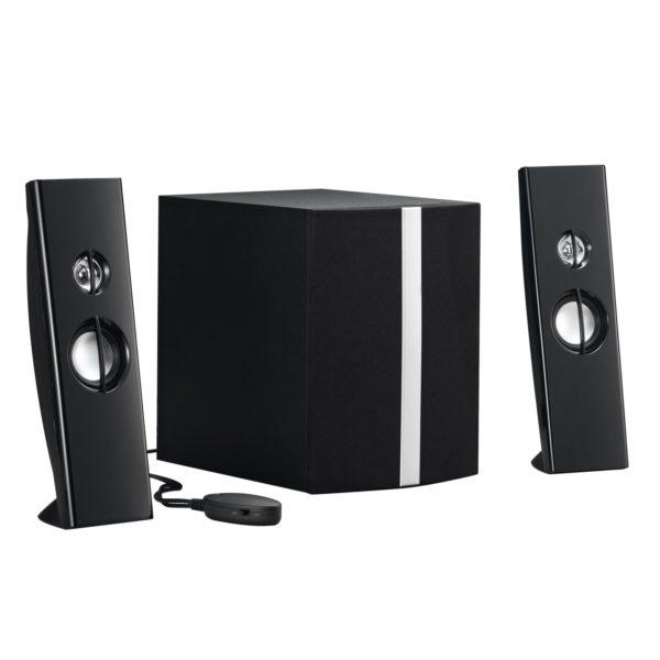 Gembird 2.1 Multimedia speakers 17W, black