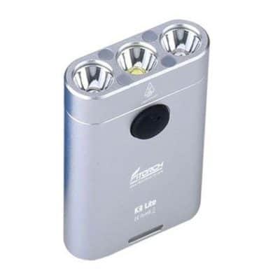 Fitorch K3 Lite XP-G3 550lm Φακός LED Μπρελόκ Υψηλής Φωτεινότητας Ασημί