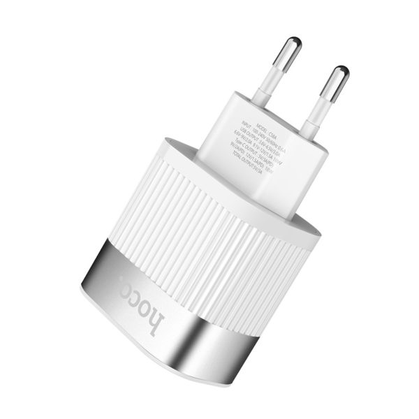 Hoco Wall charger C58A Prominent USB QC3.0 & Type-C PD 4