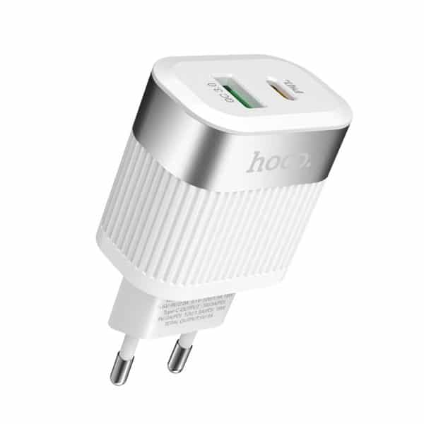 Hoco Wall charger C58A Prominent USB QC3.0 & Type-C PD