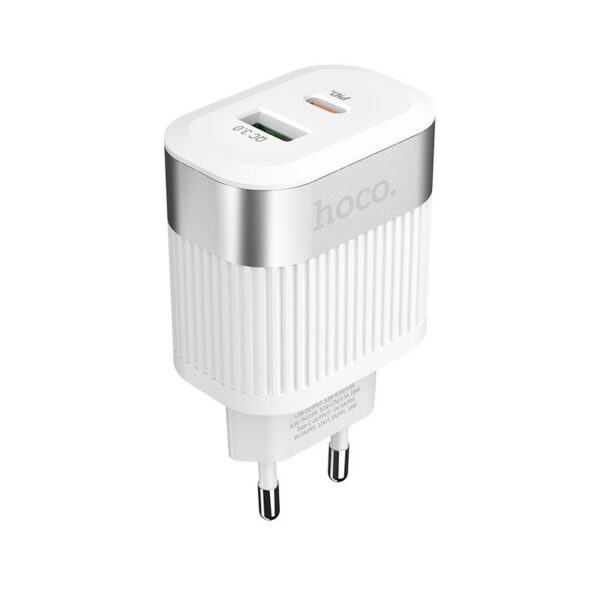 Hoco Wall charger C58A Prominent USB QC3.0 & Type-C PD 2